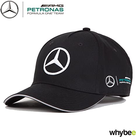 2017 Mercedes-AMG F1 Gorra con diseño del logo de Mercedes, negra ...