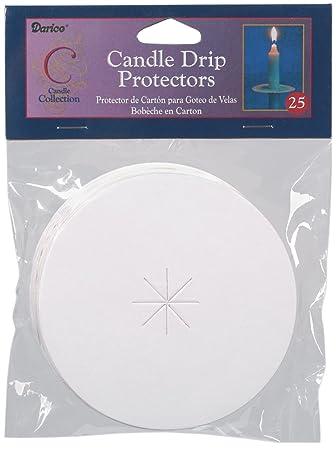diy candle wax catcher. Candle Drip Protectors 3 quot  25 Pkg Amazon co uk Toys Games