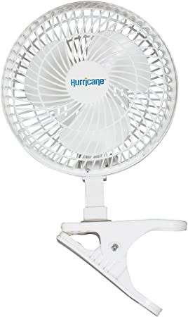 Amazon Com Hurricane Hgc736520 Classic Series Clip Fan 6 6 White Home Kitchen