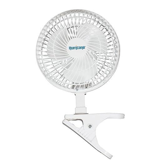 Hurricane Clip Fan, 6-Inch: Amazon.es: Jardín
