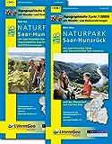 Naturparkkarten, Naturpark Saar-Hunsrück (Freizeitkarten Rheinland-Pfalz 1:50000 /1:100000)