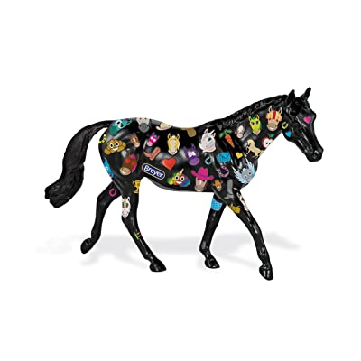 Breyer Classics Decorate Emoji Horse Craft Toy (1:12 Scale): Toys & Games