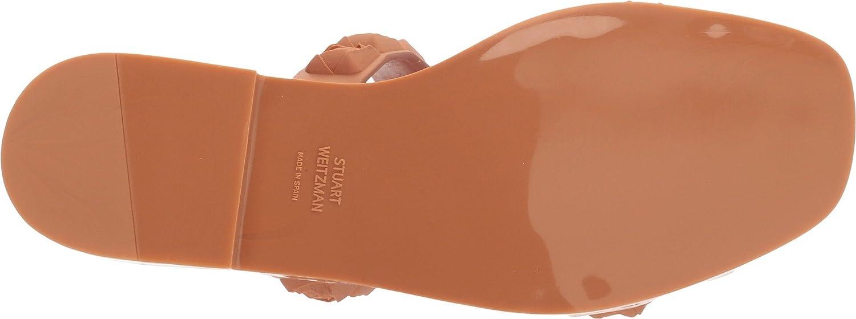 Stuart Weitzman Women's Rosita Slide Sandal B077MW5LD5 10.5 B(M) US|Ballet Taupe