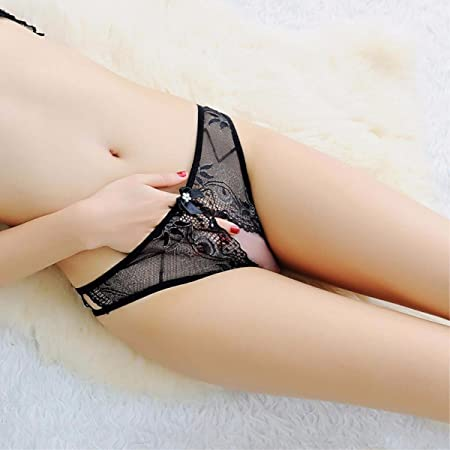e7f8bc802f9 HALILUYA Women Knickers Lace Thongs thon G String Underwear Ladies Sexy  Temptation Panties Ladies sexy Lace