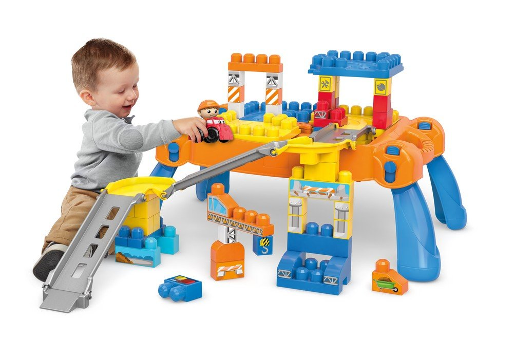 Mega Bloks First Builders N' Go Table Building Blocks