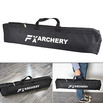 Black Avalon Archery A2 TYRO Takedown Recurve Bow Bag Padded Carry Case