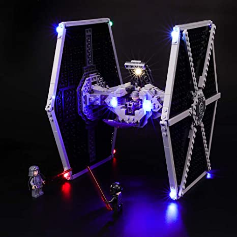 BRIKSMAX Led Lighting Kit for Major Vonreg/'s TIE Fighter Compatible with Lego 75240 Building Blocks Model Not Include The Lego Set
