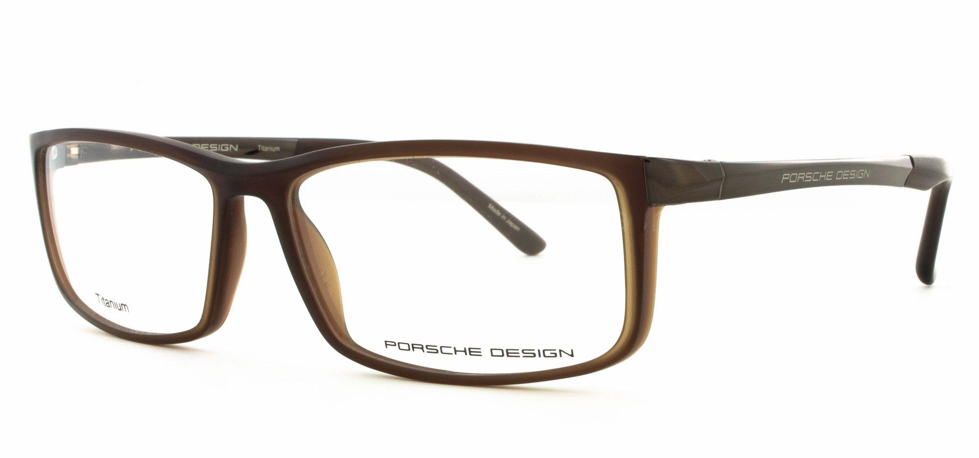 Porsche Design P8228 D Unisex Eye Reading Glasses Black Frames 56-14