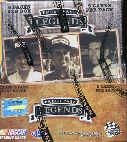 (2010 Press Pass Legends Racing HOBBY Box - 18p/5c)