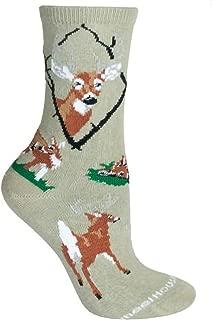 product image for Wheel House Designs Women's Deer Socks 9-11 Brown