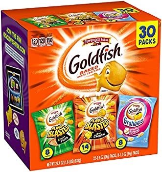 Pepperidge Farm Goldfish Variety Pack Bold Mix