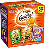 Gourmet Food : Pepperidge Farm Goldfish Variety Pack Bold Mix, (Box of 30 bags)