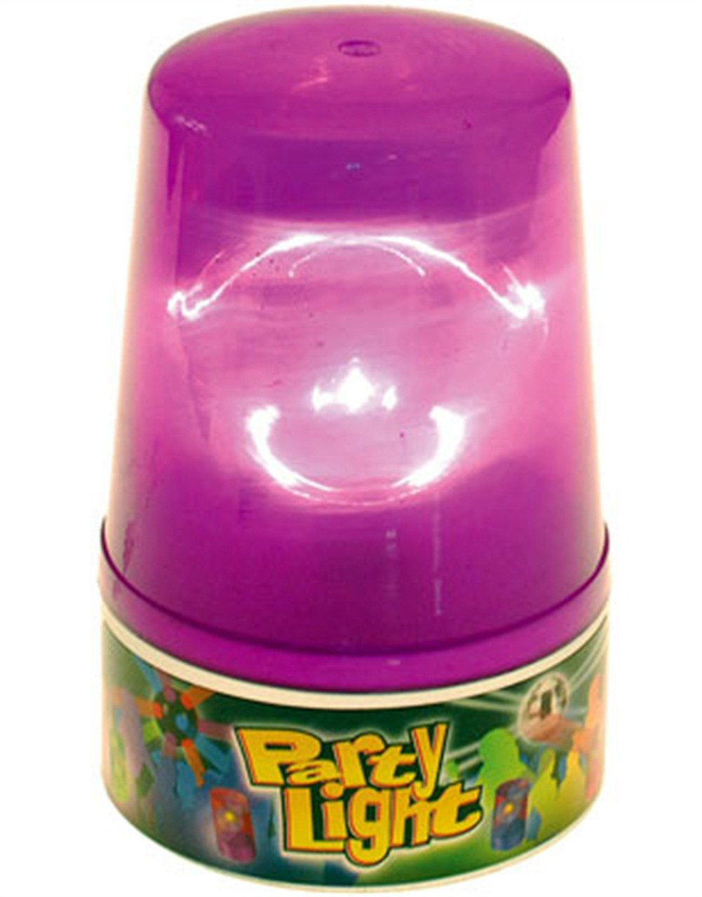 U.S. Toy Flashing Purple Party Beacon Safety Strobe Light Lamp
