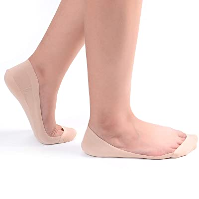 RIIQIICHY No Show Socks Women Low Cut Liner Non-Slip Thin Causal Line for Flats Boat 4 to 6 Pack