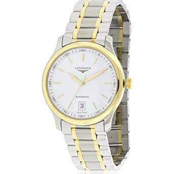 Longines Mens Swiss Automatic Stainless Steel Watch, Color:Two Tone (Model: L26285127