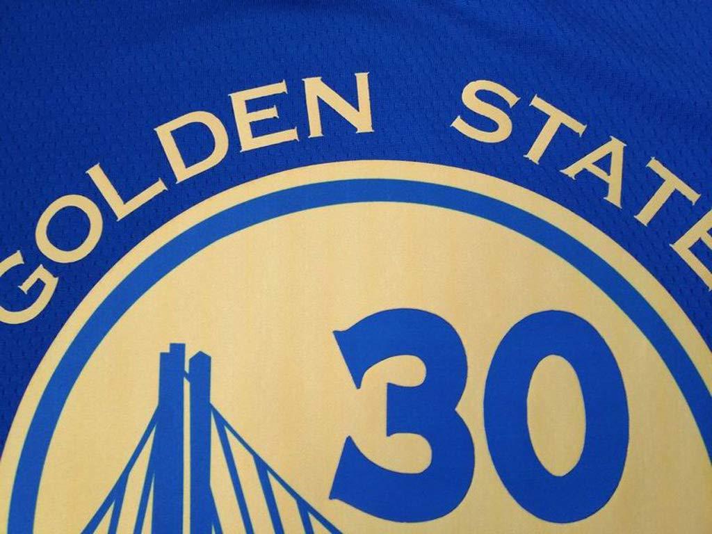 Oquta Stephen Curry Warriors # 30 Basketballtrikot blau wei/ß schwarz