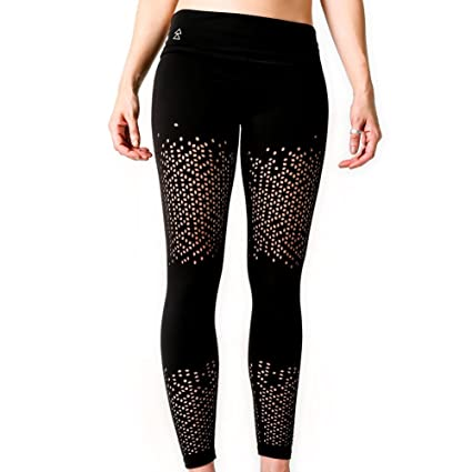 Yoga Design Lab Leggings Peek-a-Boo Lujoso, Forma Ajustada ...