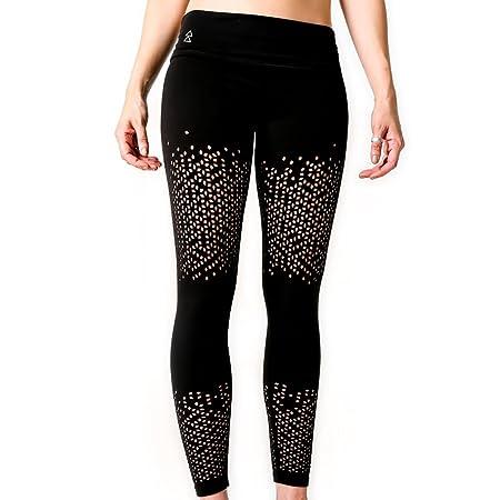 Yoga Design Lab Leggings Peek-a-Boo Lujoso, Forma Ajustada ...
