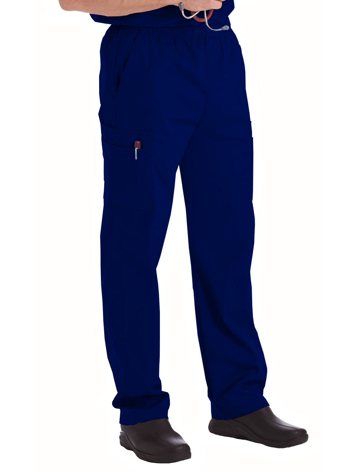 Landau Essentials 8555 Men's Cargo Scrub Pant True Navy XLT