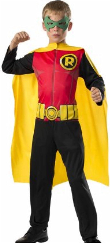 DC Comics - Disfraz de Robin superhéroe para niños, infantil talla ...