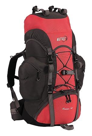 Altus Aventura 50 - Mochila, unisex, color negro/rojo, talla única: Amazon.es: Deportes y aire libre