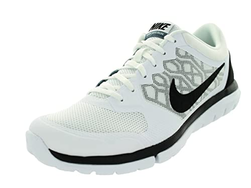 0328cf5f5fa2 Nike Men s Flex Experience RN (White Blue Graphite Black) Running Shoe