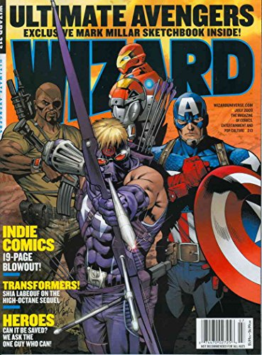 Wizard: The Comics Magazine #213A VF/NM ; Wizard comic - Olivia And Nat