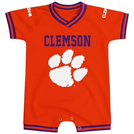 timeless design 4cbea dafa3 Colosseum Clemson University Tigers Infant Super Fan Jersey Romper