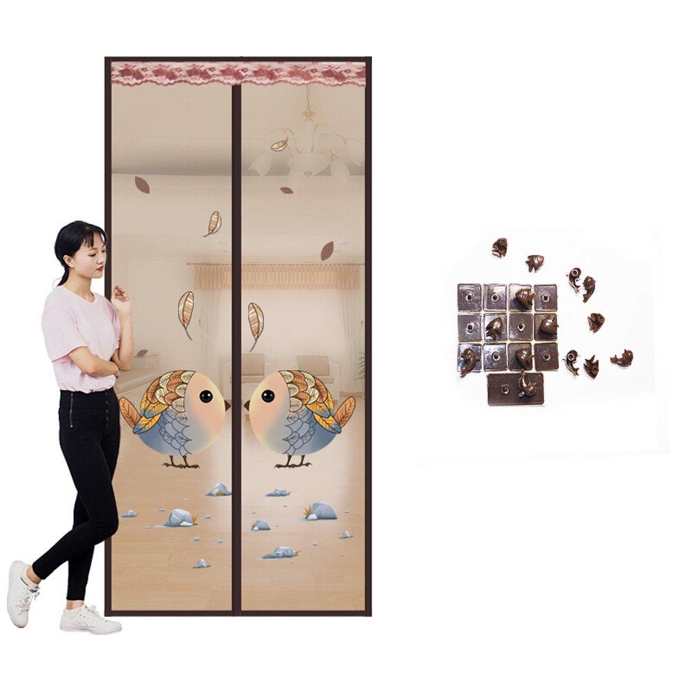Fliegengitter Magnetvorhang Für Türen Insektenschutz Magnet Fliegenvorhang  Moskitonetz, Klebmontage Ohne Bohren, Vorhang Für Balkontür Wohnzimmer  Schiebetür ...