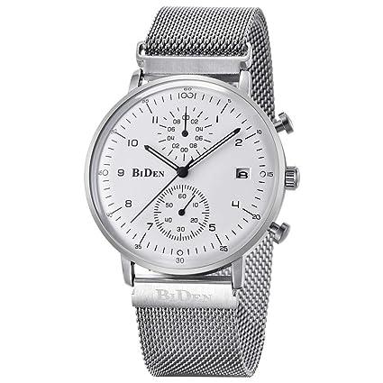 ♚Seven Relojes para Hombres Relojes De Cuarzo para Empresas Marca De Lujo para Hombre Reloj