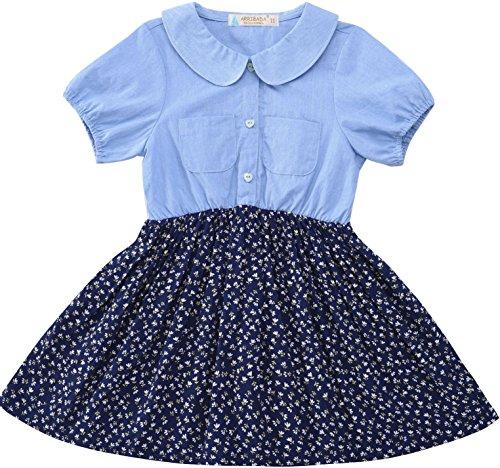 Buy belted challis shirt dress - 7