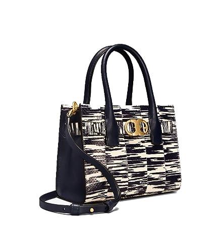 d24719590a3 Amazon.com: Tory Burch Gemini Link Ladies Small Snakeskin Tote Handbag  44630438: Shoes