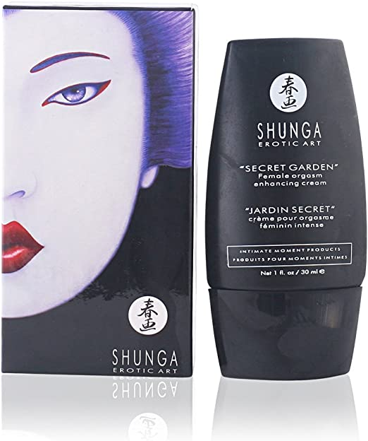 SHUNGA orgAFTER SHAVEmic cream secret garden 30 ml ORIGINAL: Amazon.es: Electrónica