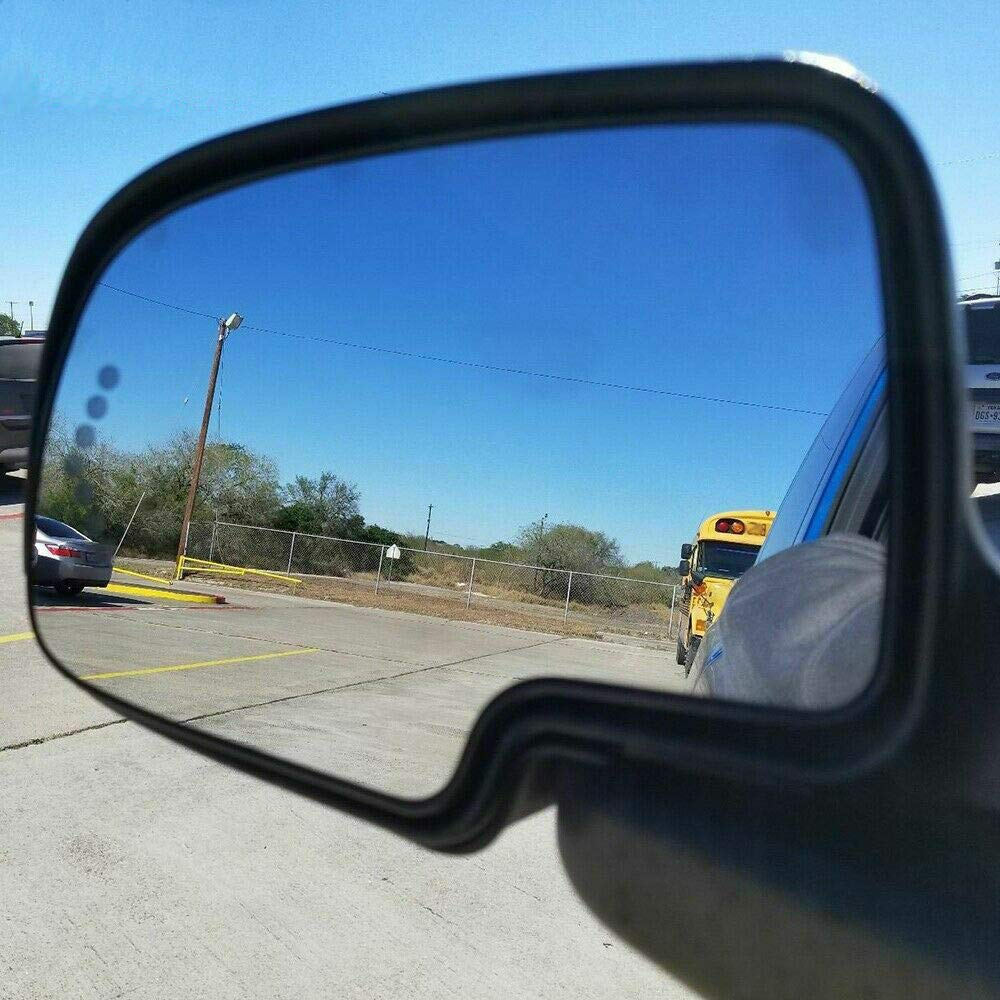 Young Heated Mirror Glass Turn Signal w//o Auto Dimming LH LF for Chevy GMC Cadillac