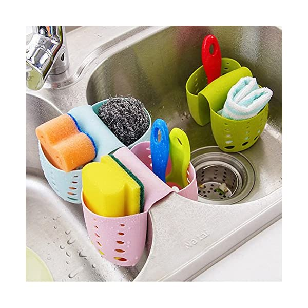 Grocery House Sponge Sink Holder, Hanging Silicone Kitchen ...