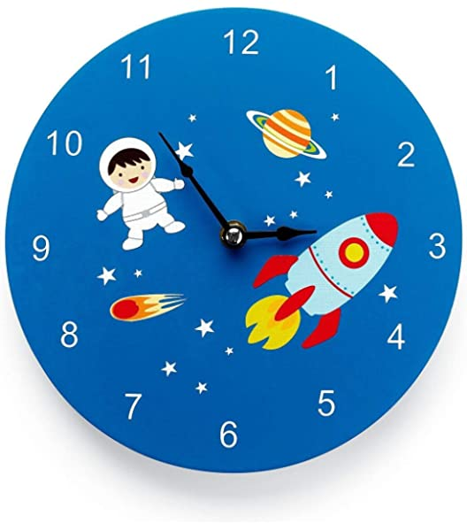 Mousehouse Gifts - Reloj de pared infantil - Madera ...