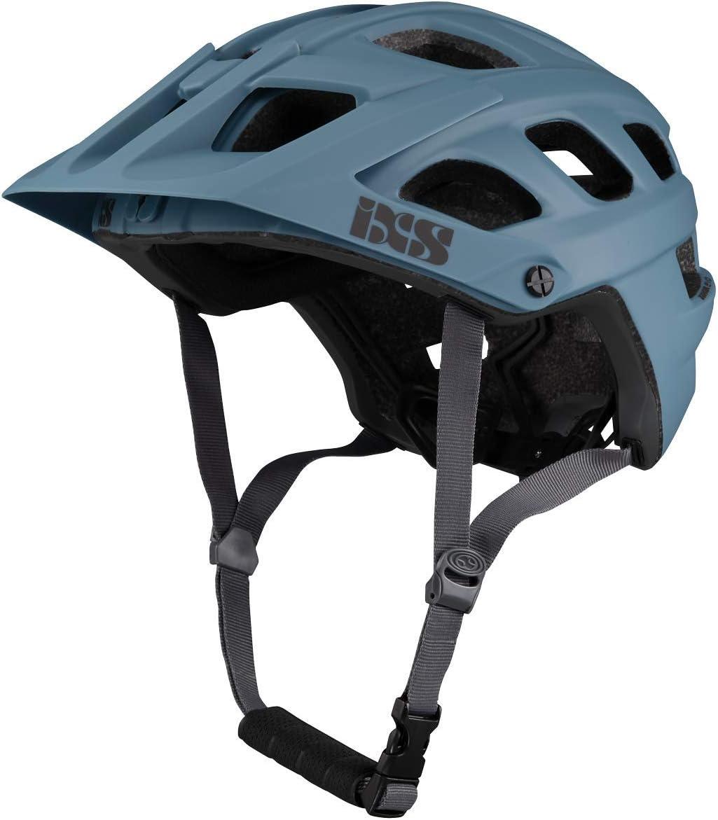 IXS RS EVO - Casco de Bicicleta de montaña para Adulto, Unisex, Ocean, ML (58-62 cm)