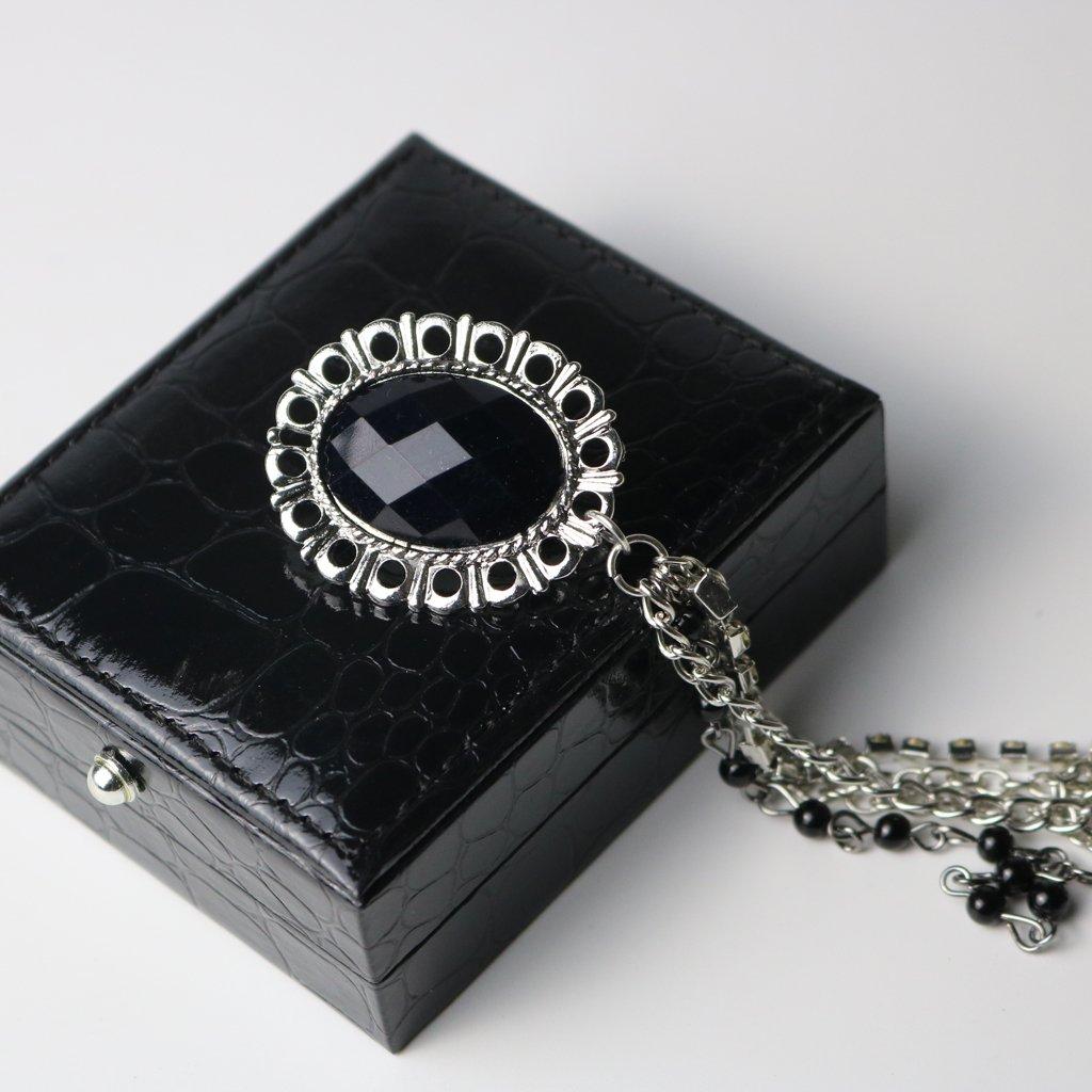 Baoblaze 3 Pcs Brooch Pin Tassel Chain Shirt Suit Collar Men Women Brooches Jewellery