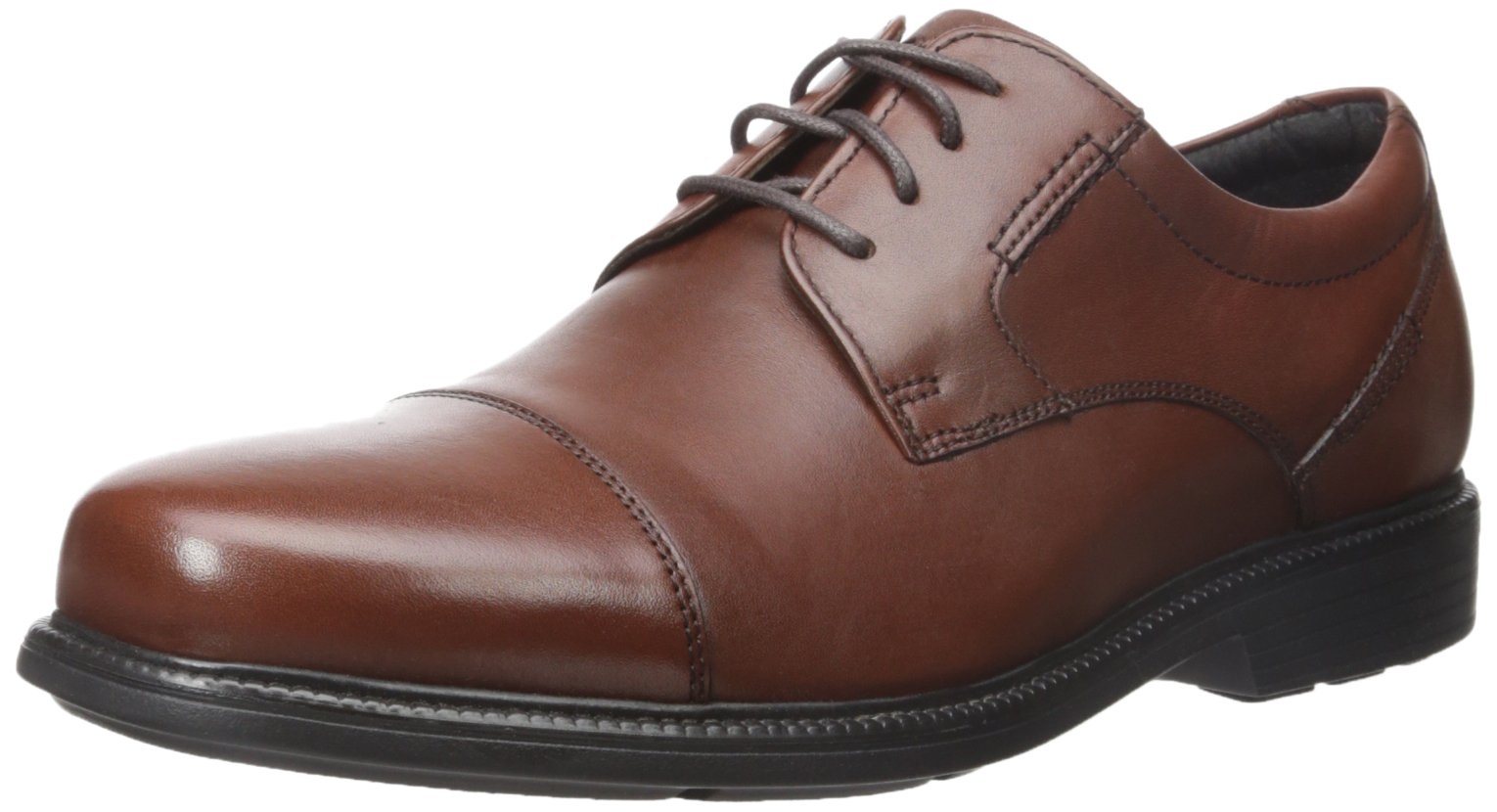 Rockport Men's Charles Road Cap Toe Oxford Tan II Leather 10.5 M (D)-10.5  M by Rockport