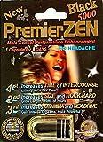 (US) PremierZEN Black 5000 Male Sexual Enhancement Pill, 1 pill fpr 7 days