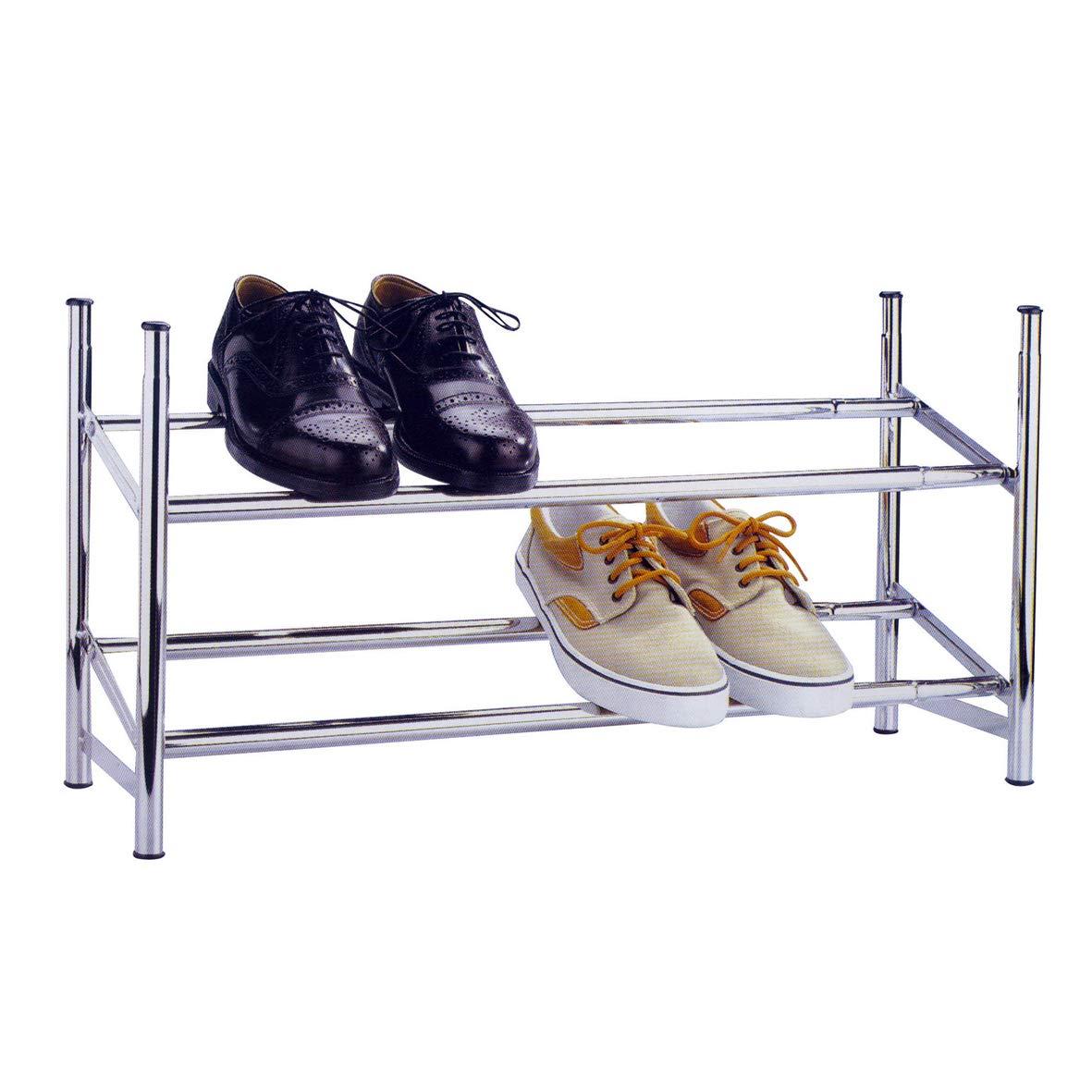 Zapatero de metal extensible para 12 pares de zapatos, marca Knight