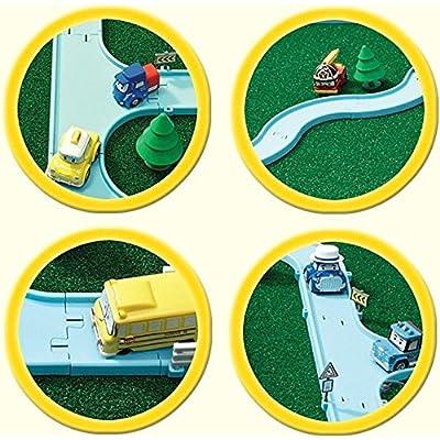 ACADEMY Robocar Poli Diecast Track Play Set: Toys & Games