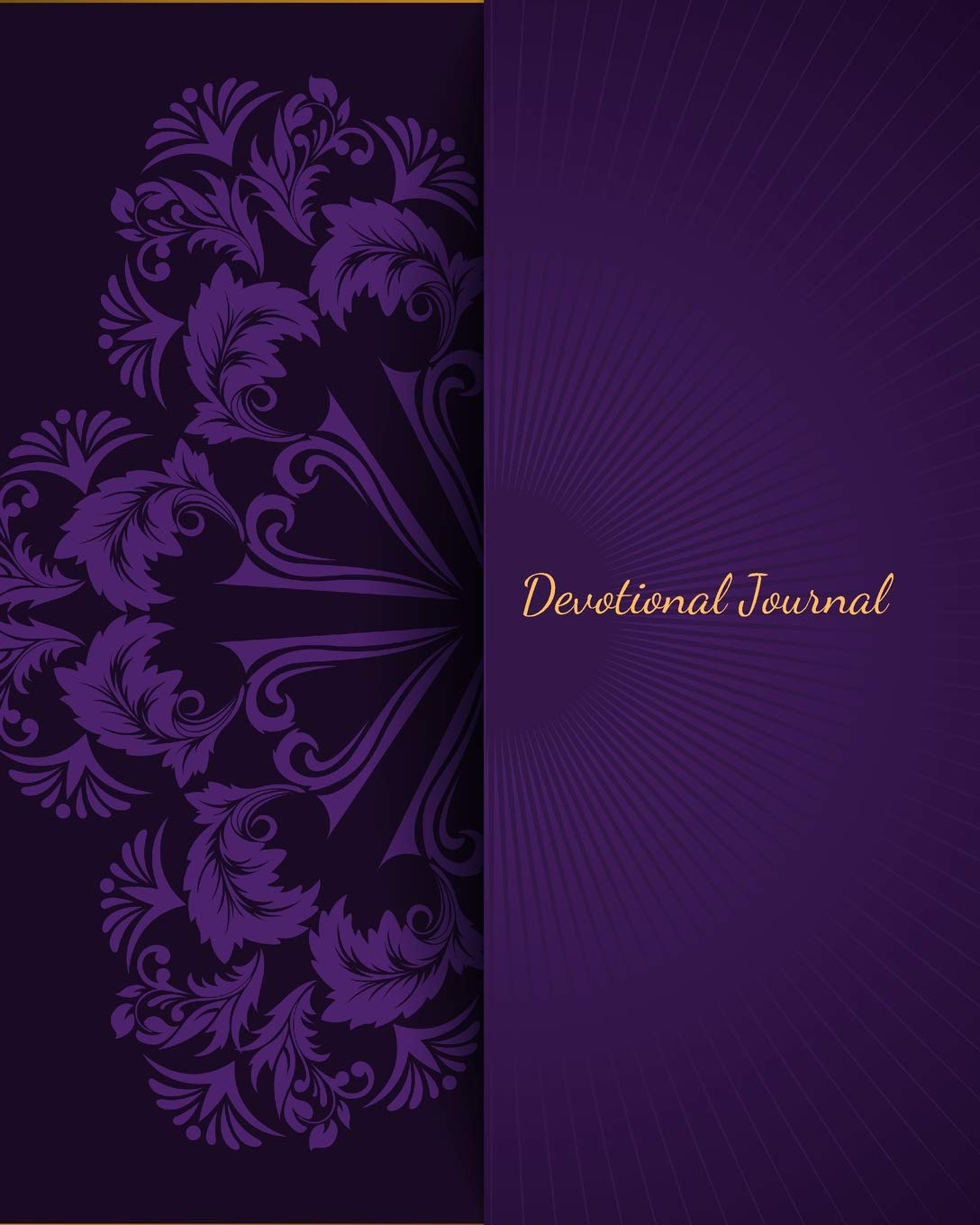 Devotional Journal: Portable Christian Gift Journal Notebook