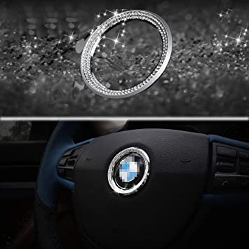 Bling Bling Car Steering Wheel Decorative Diamond Sticker Fit For Toyota,DIY Bling Car Steering Wheel Emblem Bling Accessories for Toyota