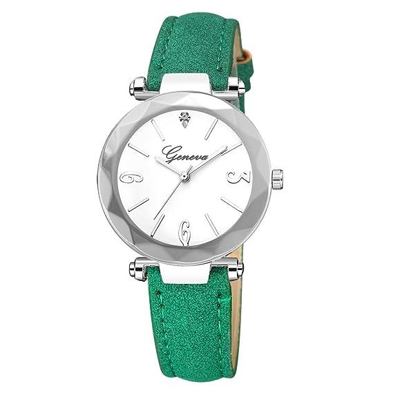 Reloj mujer elegante - Feixiang Fashion reloj de pulsera deportivo con correa de piel con esfera de acero inoxidable moda lujo Relojes Hombre Cuarzo ...