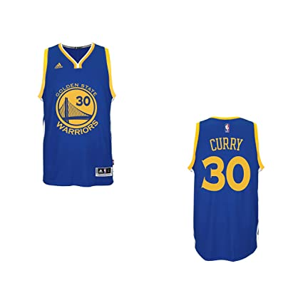 fec059325 adidas Stephen Curry Golden State Warriors Men's Blue Swingman Jersey 4XL