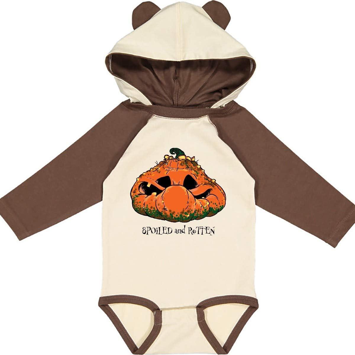 inktastic Spoiled and Rotten Cute Pumpkin Long Sleeve Creeper