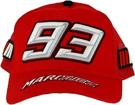 Marc Marquez 93 Moto GP Niños Trucker Rojo Baseball Gorra Oficial ...