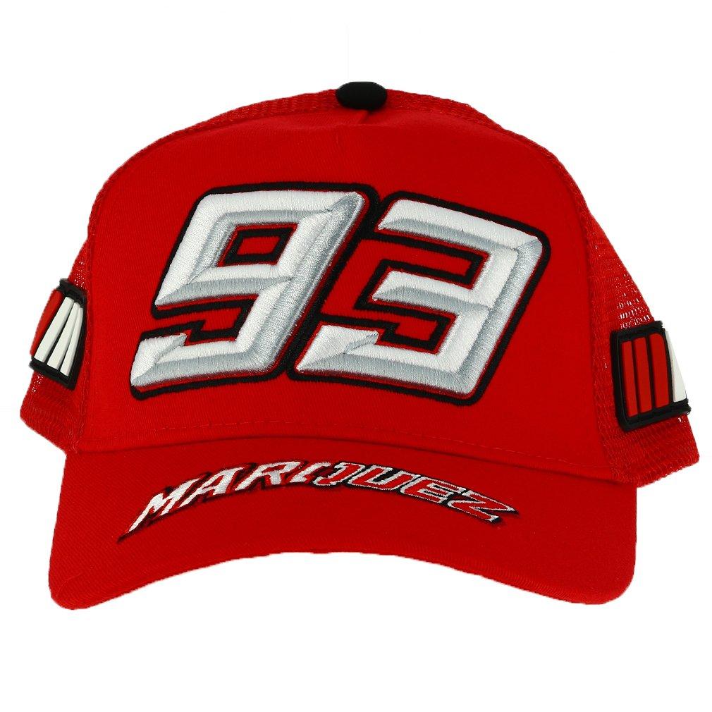 Marc Marquez 93 Moto GP Enfant Trucker Rouge Casquette Officiel 2018