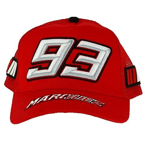 Marc Marquez 93 Moto GP Bambini Trucker Rosso Berretto Ufficiale 2018 0ef6025e7483